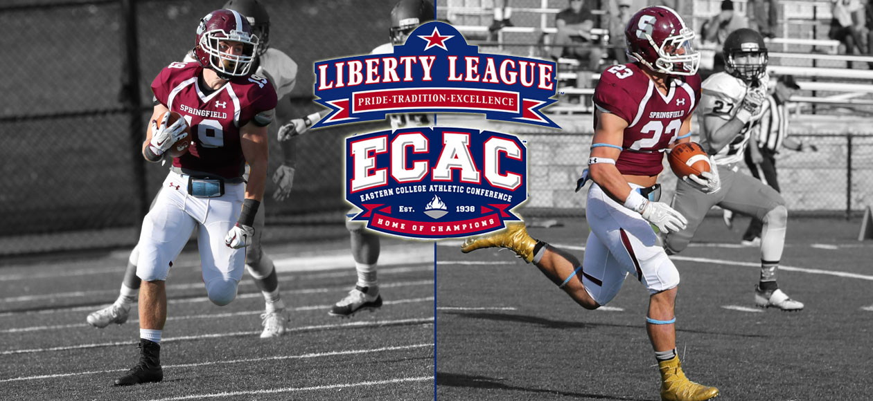 Belzo and Wilcox Garner Liberty League and ECAC Football Weekly Accolades