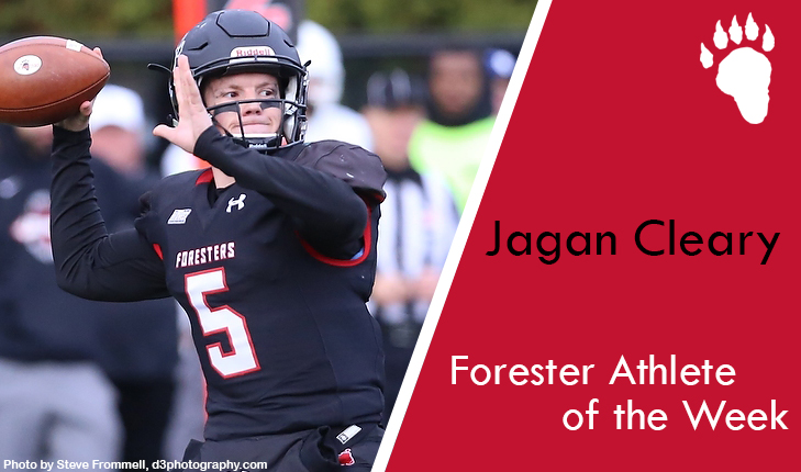 Jagan Cleary Named Forester Athlete of the Week