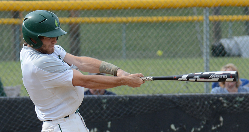 Sophomore Jared Trautman had one of Wilmington's two RBI Sunday against JCU. (Wilmington file/Randy Sarvis)