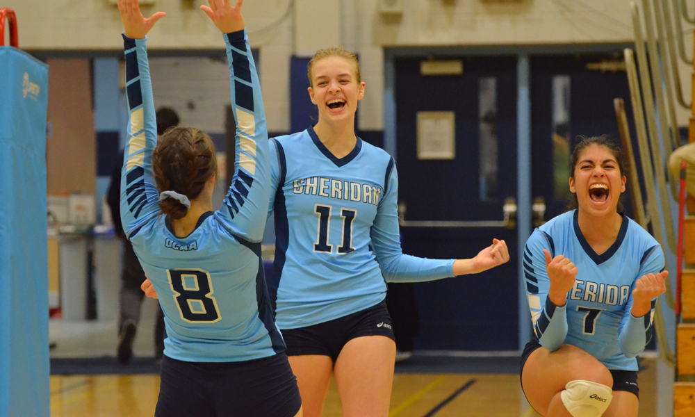 Women's volleyball snap three-game slide with win over Conestoga