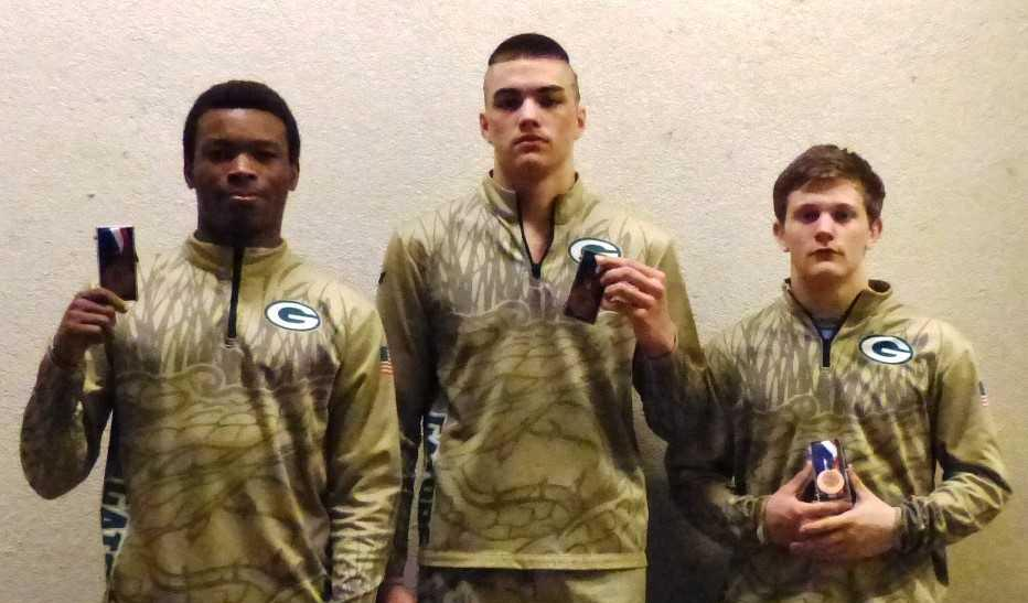Gator Wrestling Team Places Three in Top 6
