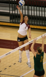 Bronco Volleyball Fall 3-0 To UNLV Rebels