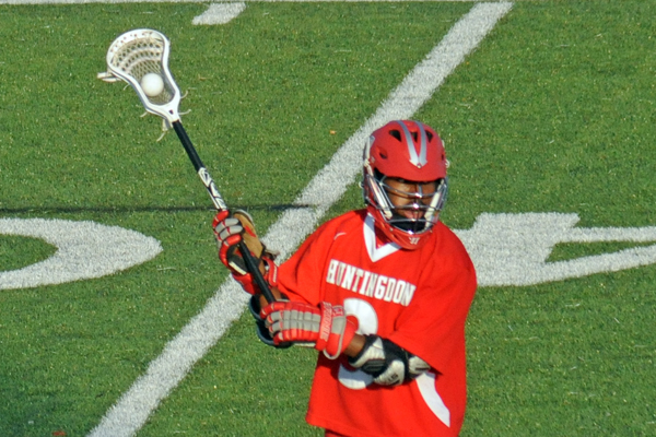 Huntingdon men's lacrosse sets new mark for wins in a season