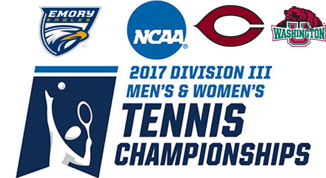 Three UAA Teams Receive Bids to NCAA Division III Men's Tennis Championship