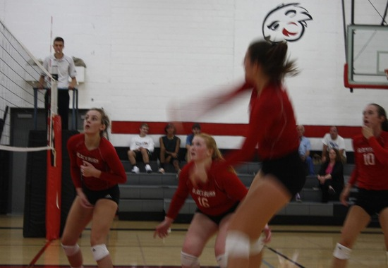 Volleyball Falls in Three Sets to Illinois College