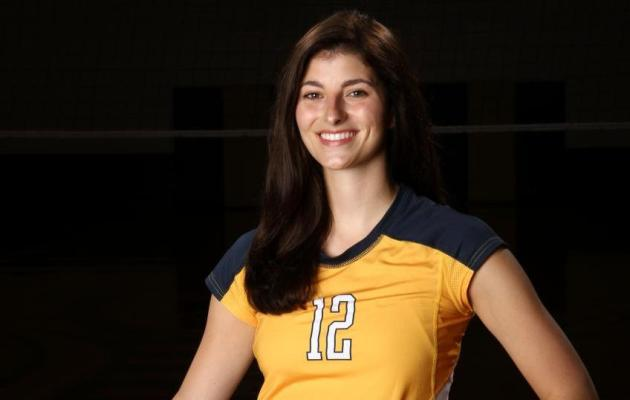 Coker Volleyball Player Katie McElveen is the NCAA DII Featured Student-Athlete