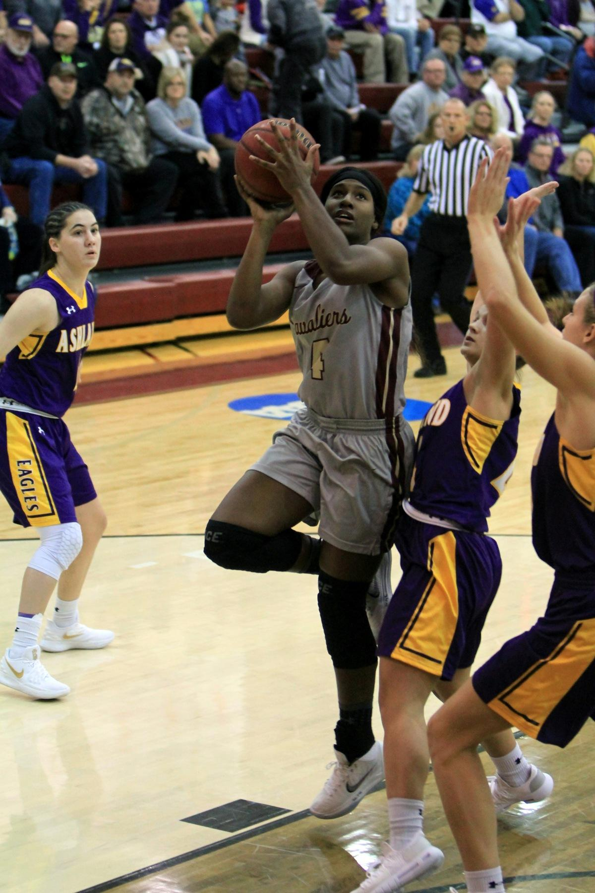 Women's Basketball Freshman Standouts Lead Cavs to Victory