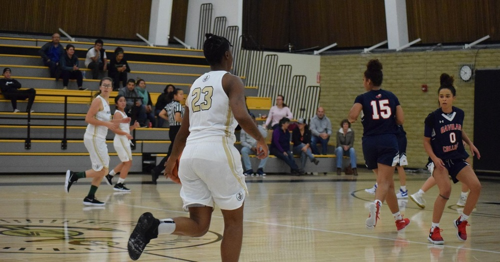 Women's Basketball Earns First Road Win 72-61 Over Hartnell College
