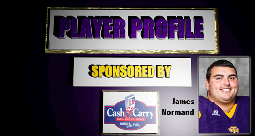 Watson Brown Show Player Profile segment available: James Normand