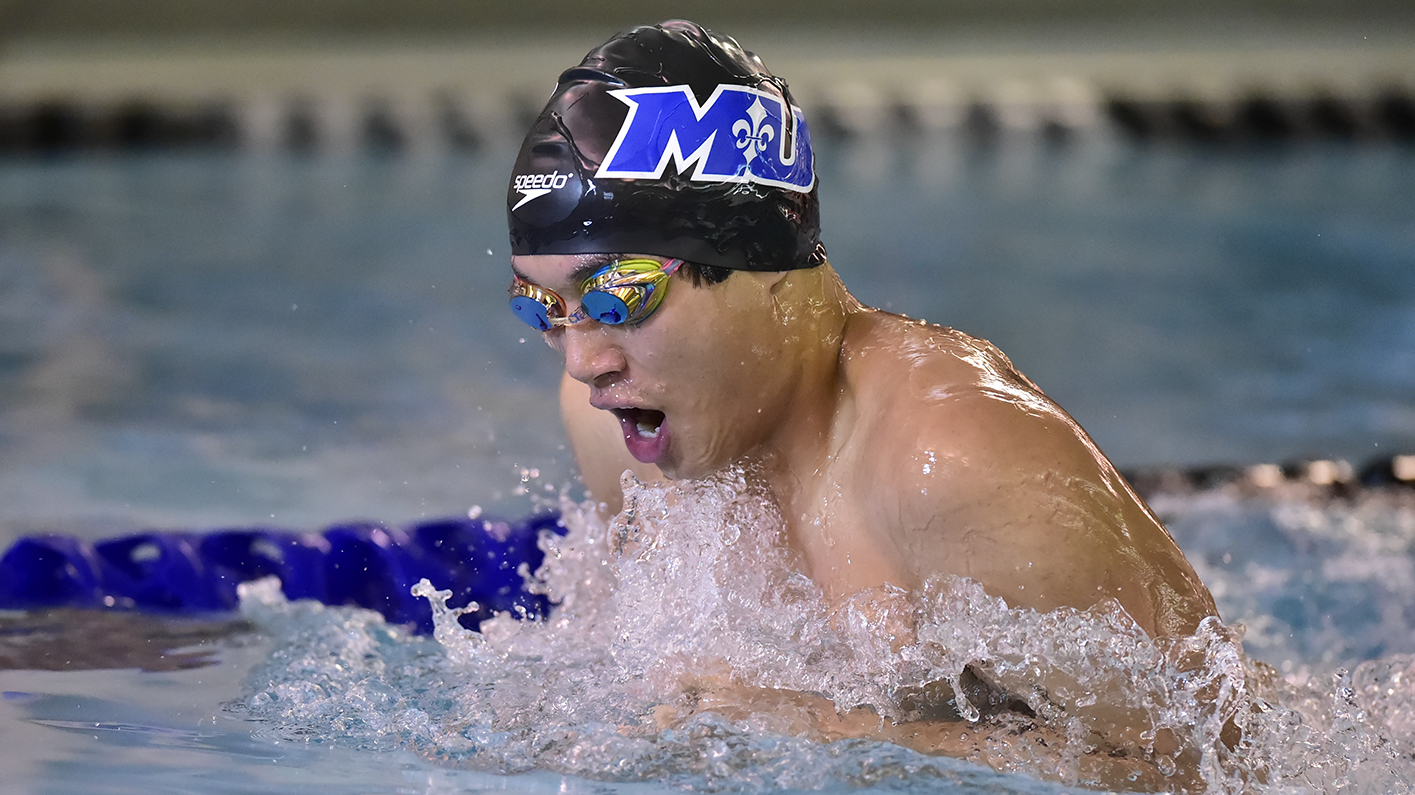 Saints pick up wins in dual meet with Gallaudet and Goucher