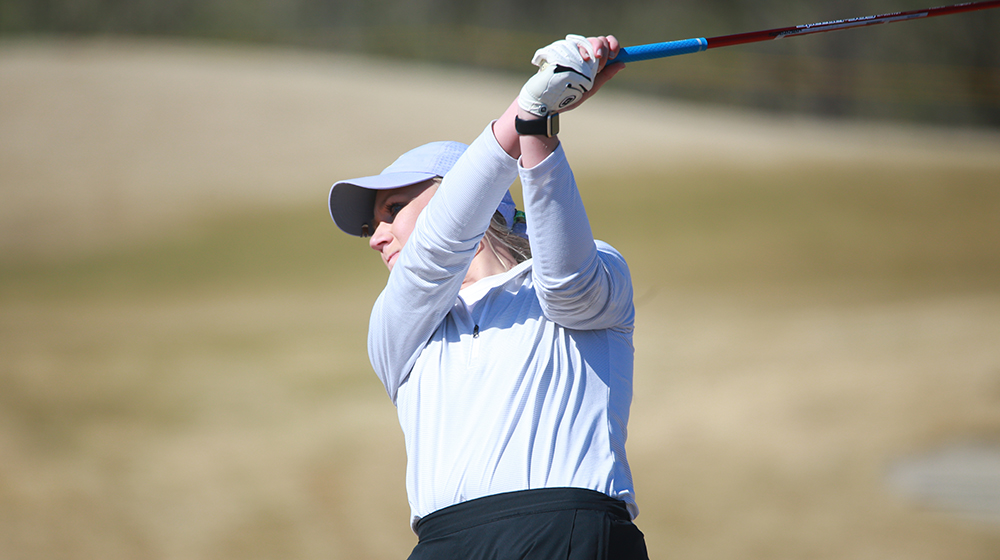 Golden Eagle women's golf in action at EKU Colonel Classic starting Friday