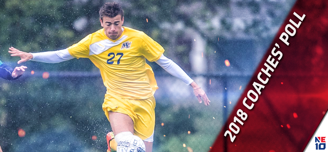 Merrimack Earns Top Spot in NE10 Men's Soccer Coaches' Poll