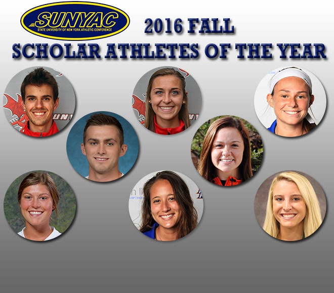 SUNYAC Announces Scholar Athlete of the Year Honorees