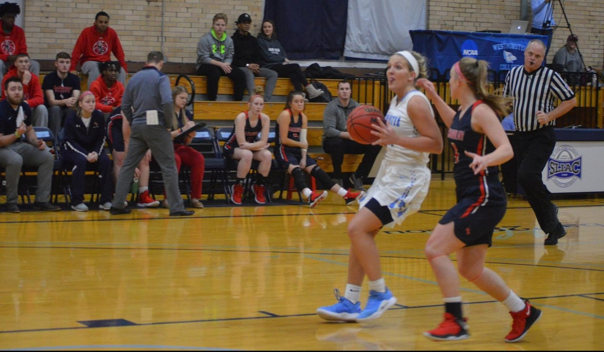 Westminster College Women's Basketball 'Dialed In', Focused in Conference Romp Over Iowa Wesleyan