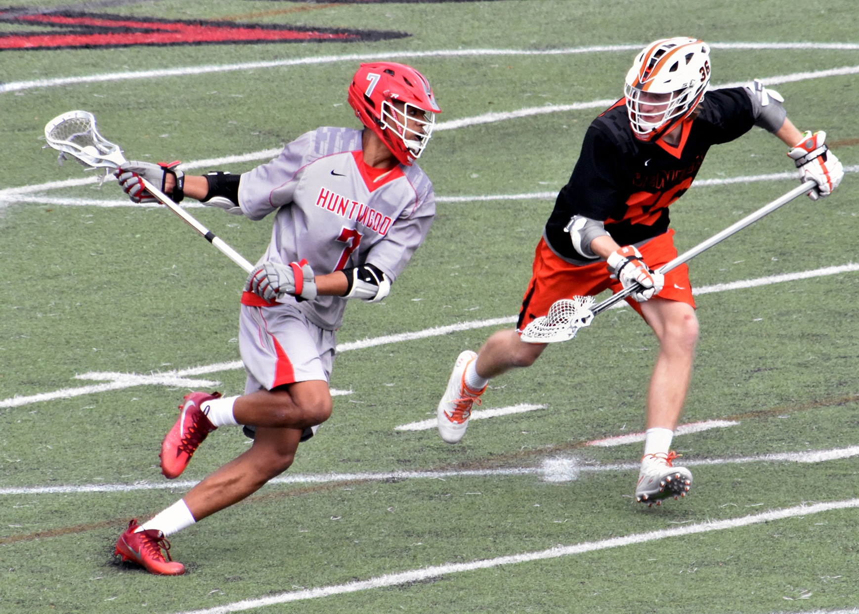 Adrian Harper had three goals, three ground balls and two caused turnovers in Saturday's win at Hendrix.