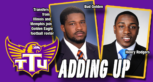Transfers Golden, Rodgers added to Golden Eagle football roster