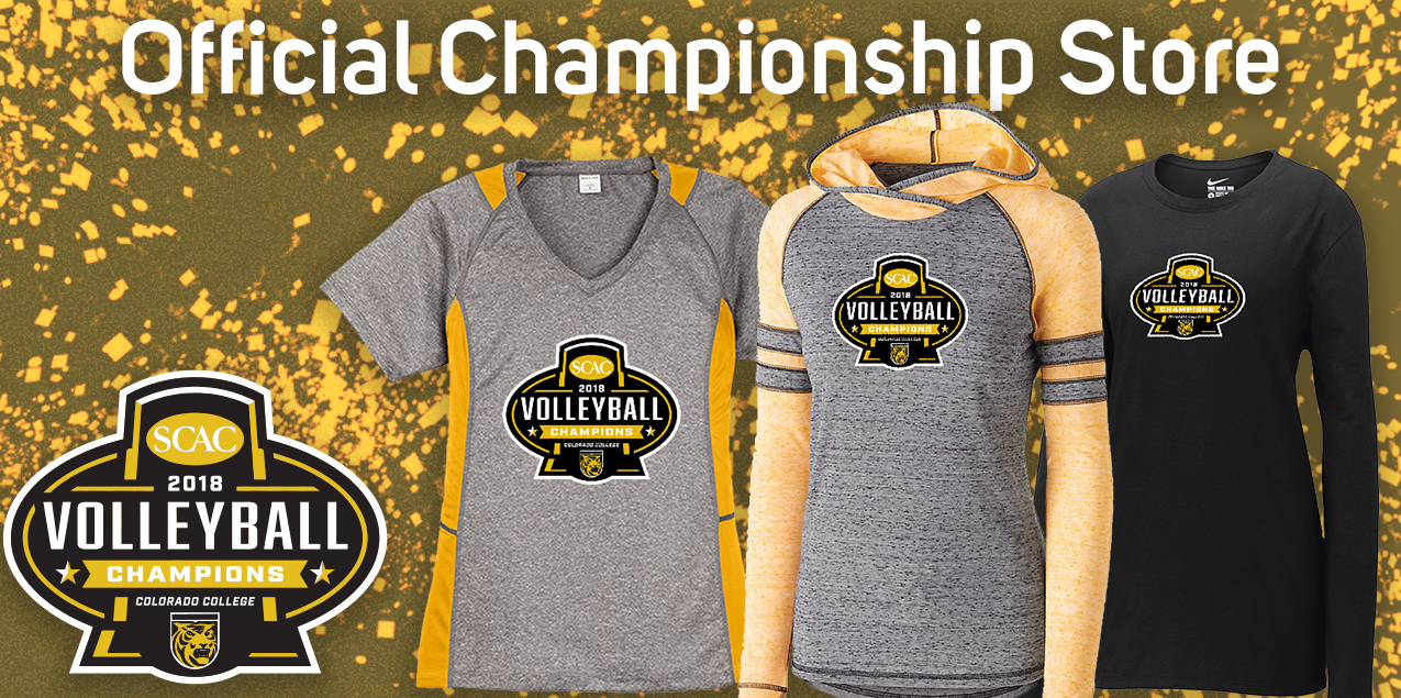 Purchase Colorado College Women's Volleyball Winners Gear
