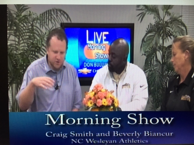 Coaches Smith and Biancur Featured on WHIG Morning Show