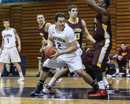 Gallaudet makes late rally against Salisbury but falls 88-84 in the GU Holiday Tournament