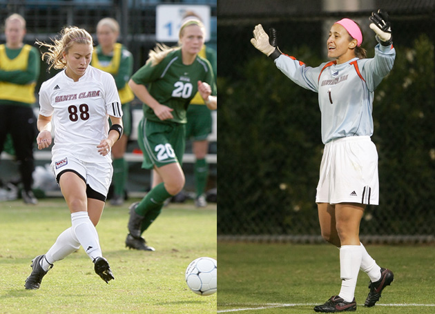 Henninger, Vernon Named to WCC Preseason All-Conference Team
