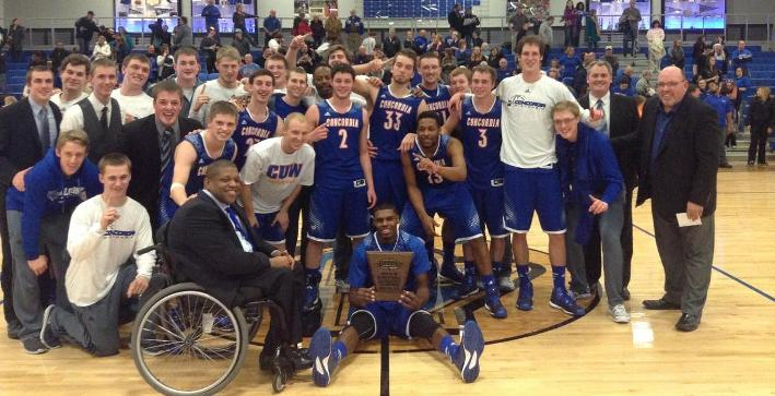 2014-15 Stories of the Year (No. 1): Men's Basketball wins NACC Tournament