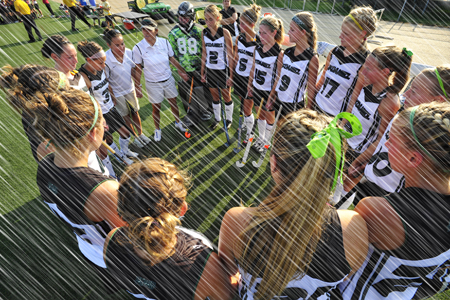 Rains postpone field hockey