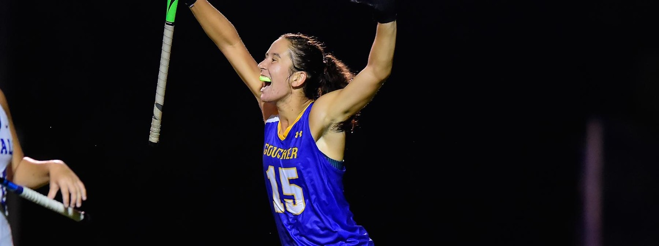Hooper Powers Three Marker Fourth Quarter With A Pair Of Goals In Goucher Field Hockey 3-0 Win Against Transylvania