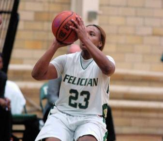 Saunders' 17 Not Enough As Felician Falls At Pace