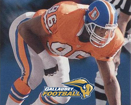 Former NFL player Kenny Walker joins Gallaudet football coaching staff
