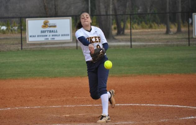 Softball's Skipper Tabbed Conference Pitcher of the Week