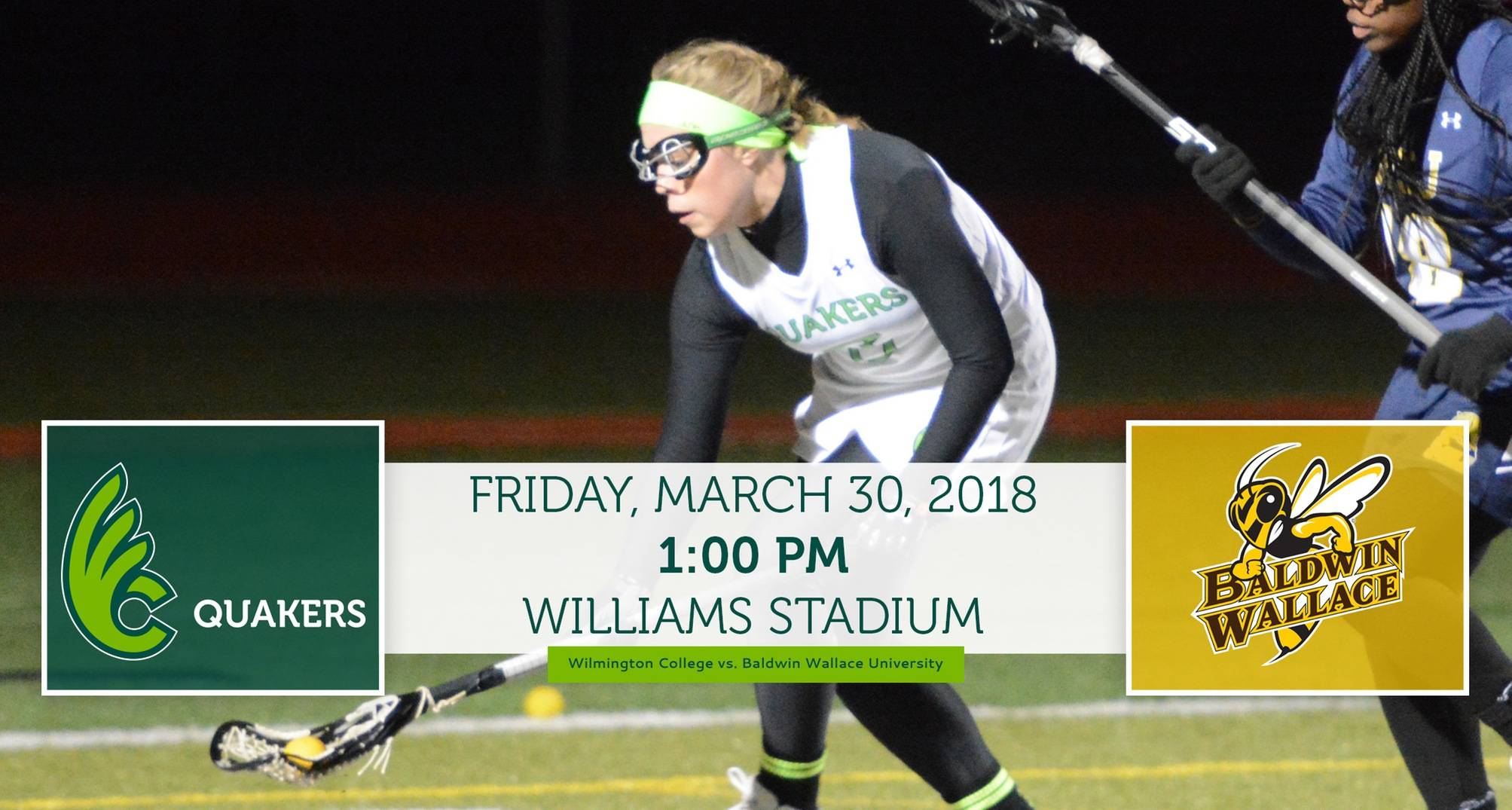 Women's Lacrosse Hosts Baldwin Wallace Friday