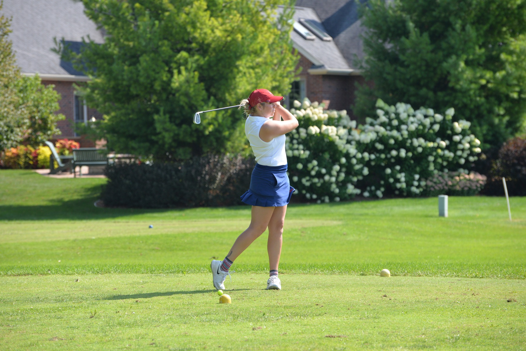 Lady Cards 8th after first two rounds at Beall Fall Classic