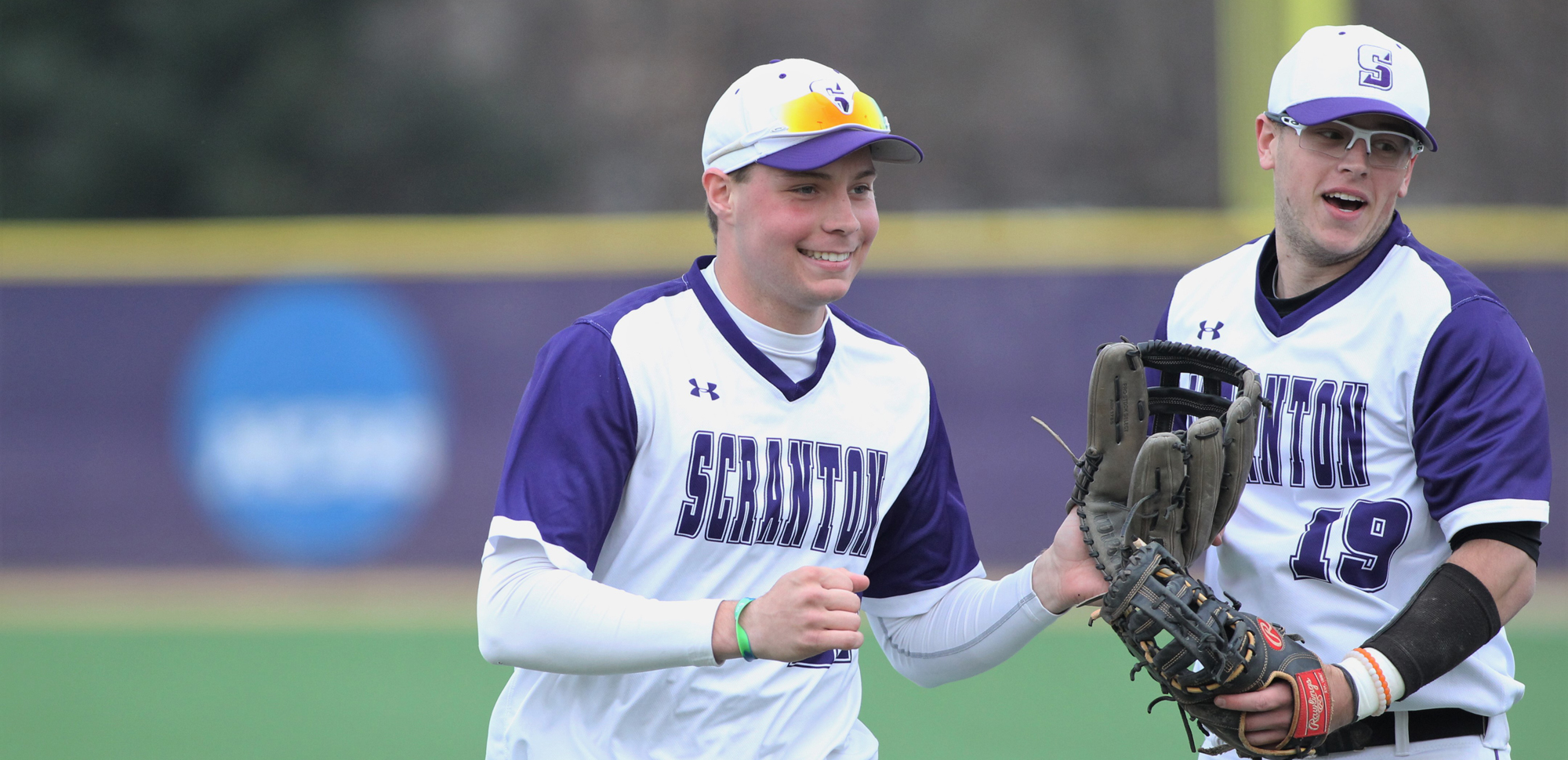 Sophomore Connor Harding has been named The University of Scranton Athlete of the Week. © Photo by Timothy R. Dougherty / doubleeaglephotography.com