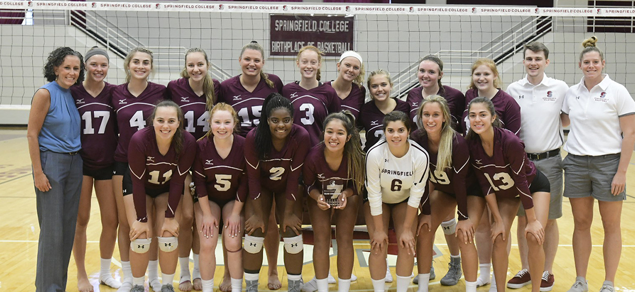 Women's Volleyball Wins Springfield College Invitational
