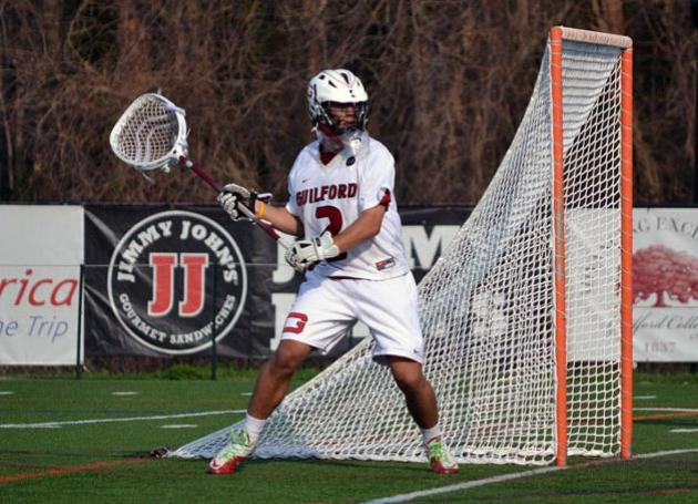 Deane Leads Guilford to 12-6 Men's Lacrosse Win Over Oneonta State