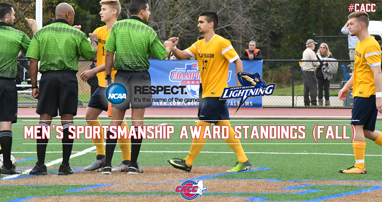 Goldey-Beacom in First Place in 2017-18 CACC Men's Sportsmanship Award Standings After Fall Season