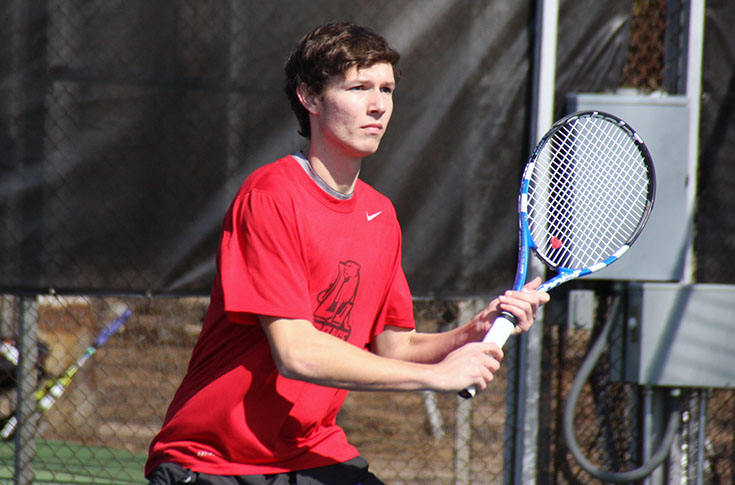 Men's Tennis: Panthers lose USA South match at Methodist