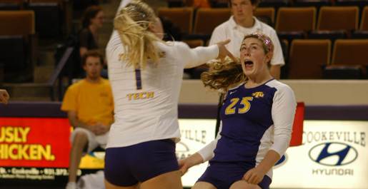 Lady Govs remain unbeaten in OVC play, top Tech 3-0