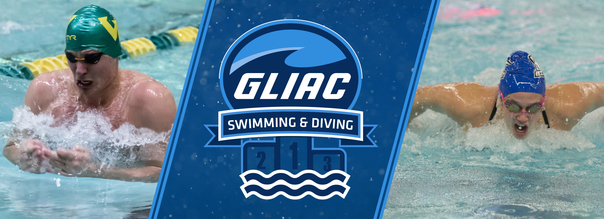GVSU's Martinez and WSU's Palazzo receive swimming and diving awards for Week 9