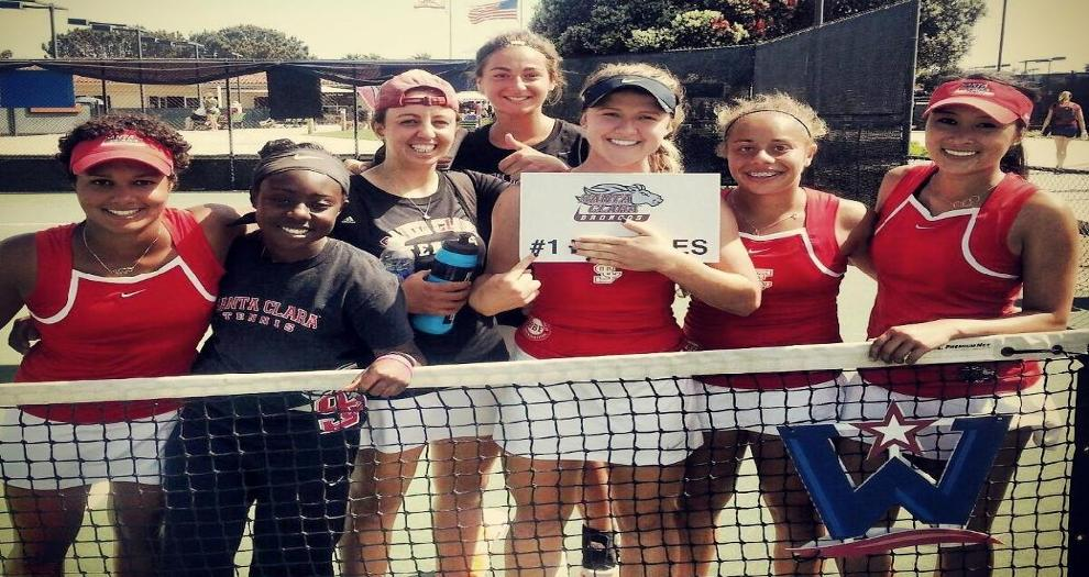 Women's Tennis Advances to Second Round of WCC Championships By Sweeping Portland