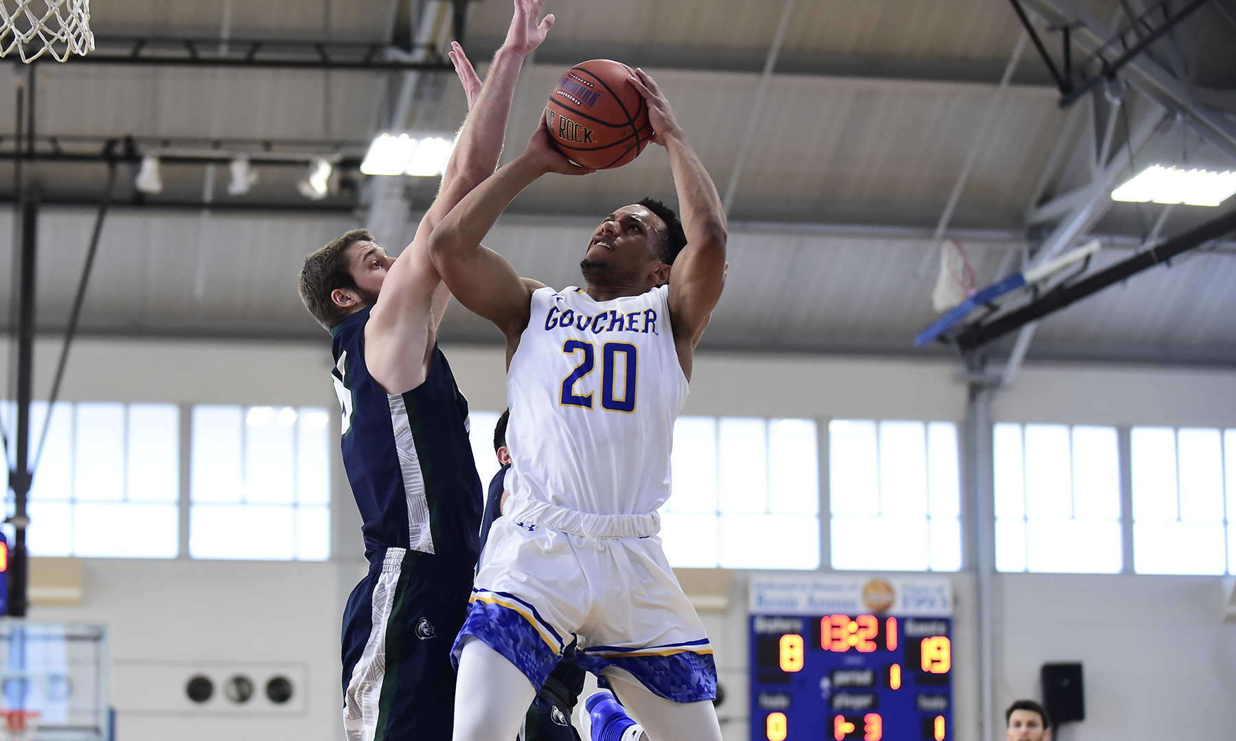 Drew Upends Men's Basketball, 82-59, in Landmark Conference Action