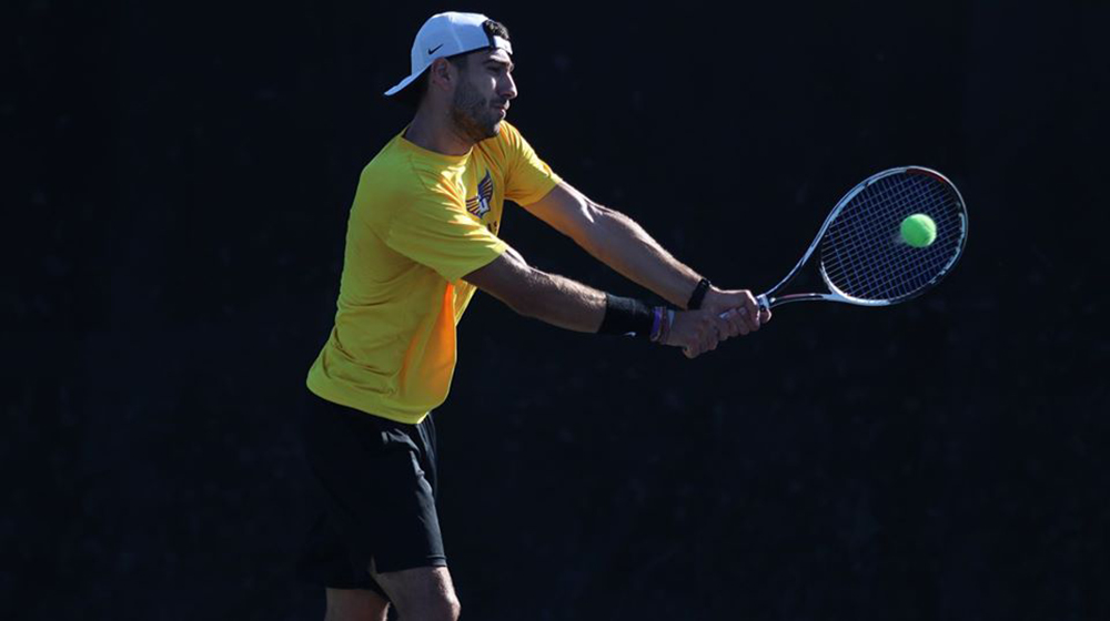 Golden Eagle tennis team wraps up fall season at Wake Forest Fall Invitational