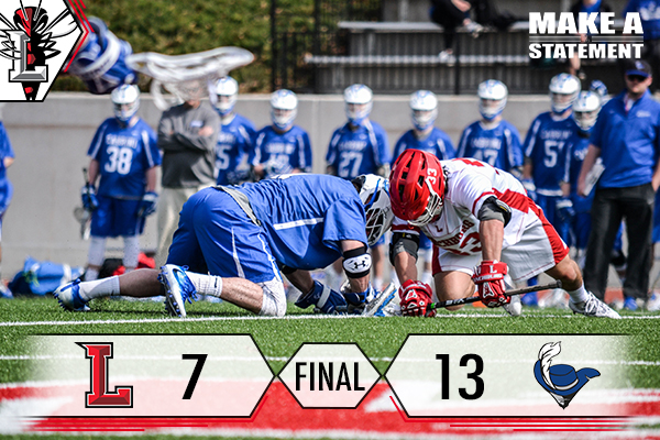 #20 Men's Lacrosse Falls To #8 Cabrini, 13-7