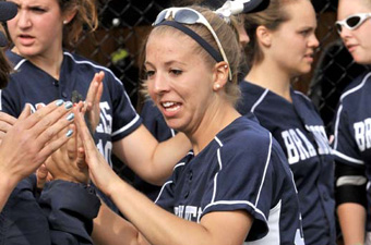 Softball struggles on final day of UAA action