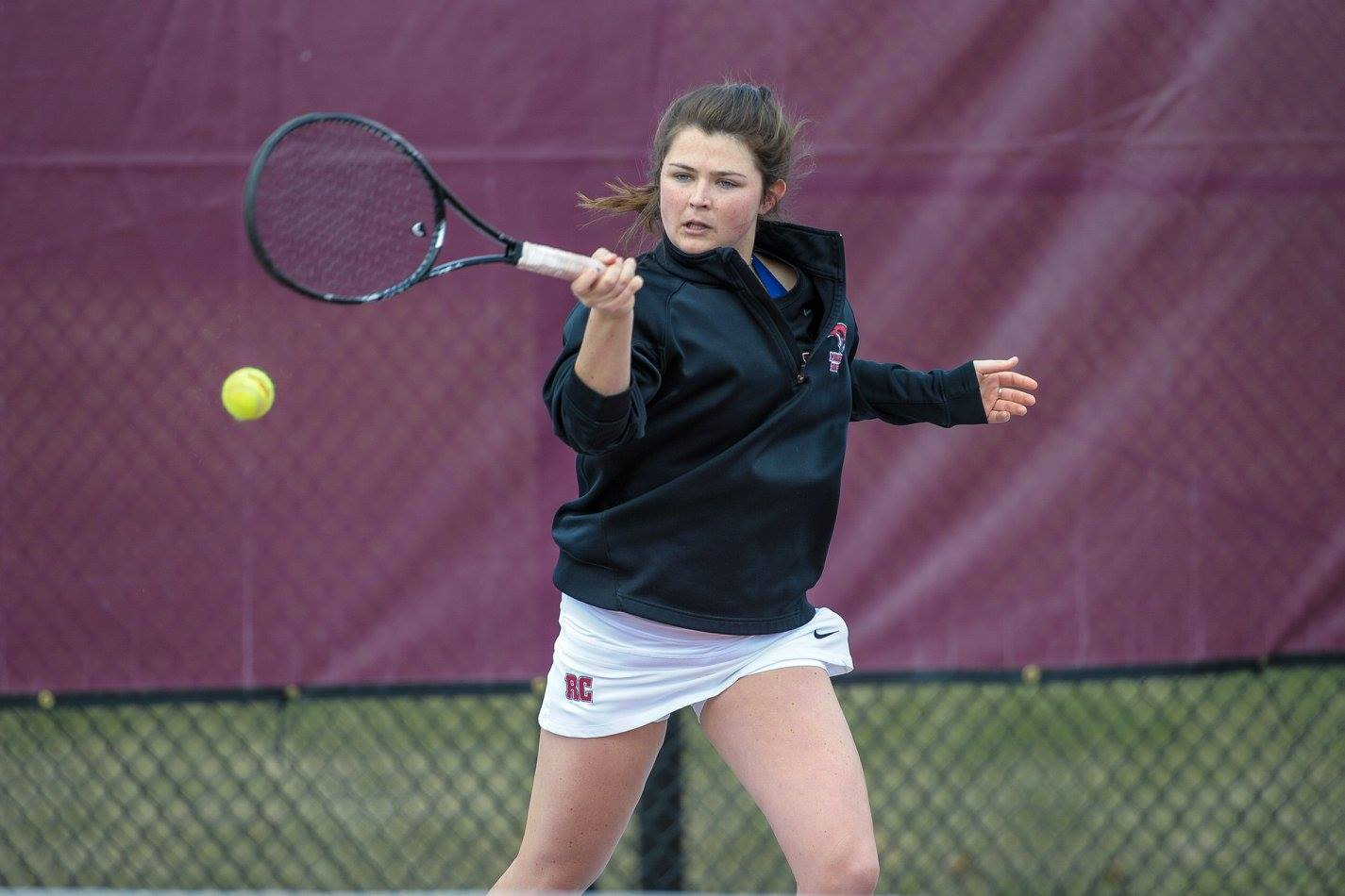 BC Takes 6-3 Women's Tennis Win Over RC