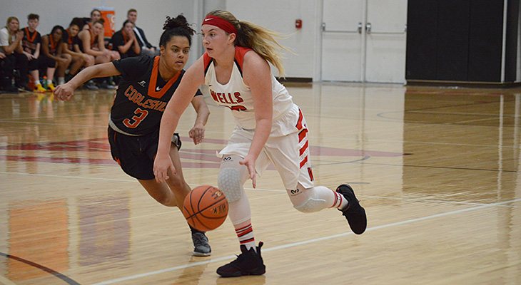 Wells Women's Basketball Wins Against Oswego State