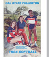 1984 Softball Cover