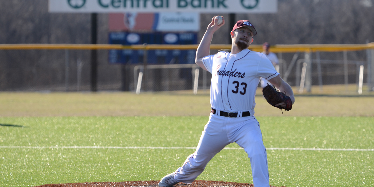 Solid Pitching Gives Evangel Baseball Sunday Sweep vs Concordia