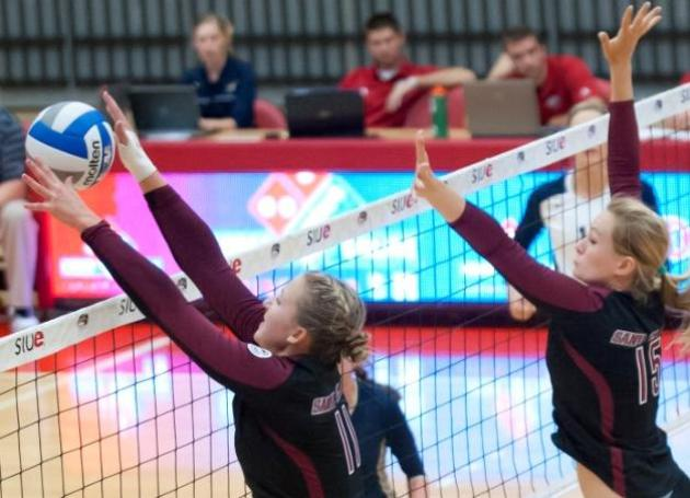 Bronco Volleyball Takes Perfect Record To Aggie Invite to Face Utah, UNC and UC Davis
