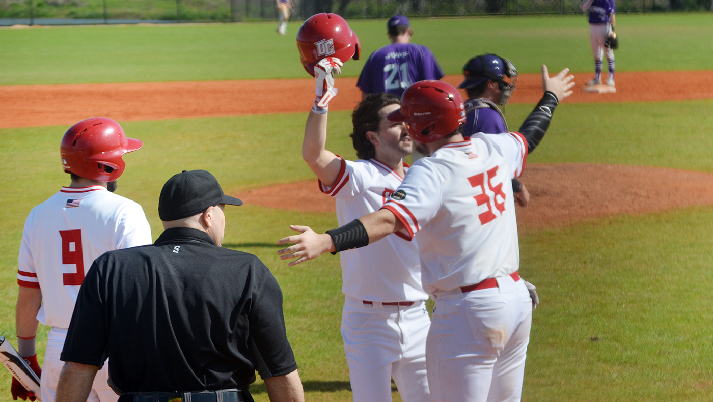 Baseball team opens Spring Break trip with 9-5 loss to Fontbonne